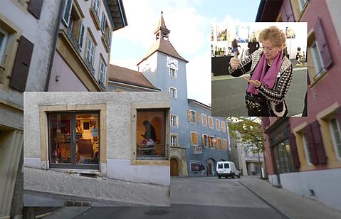 スイス COCOSギャラリーにて作品を展示